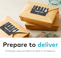 Deals on Vistaprint: Up to 25% Off Takeout and Delivery Products