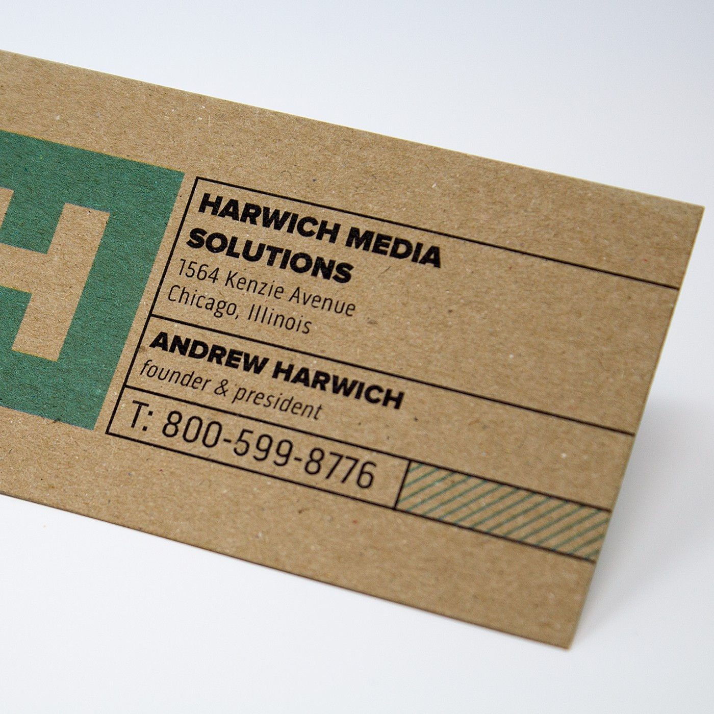 Business Card Kraft Paper