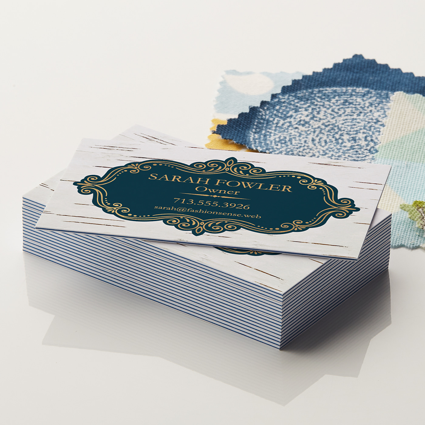 ColorFill Business Cards Triple Layered