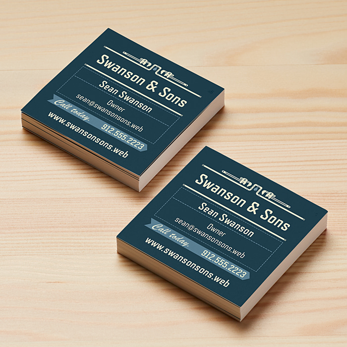 square business cards size 2 5 x 2 5 vistaprint