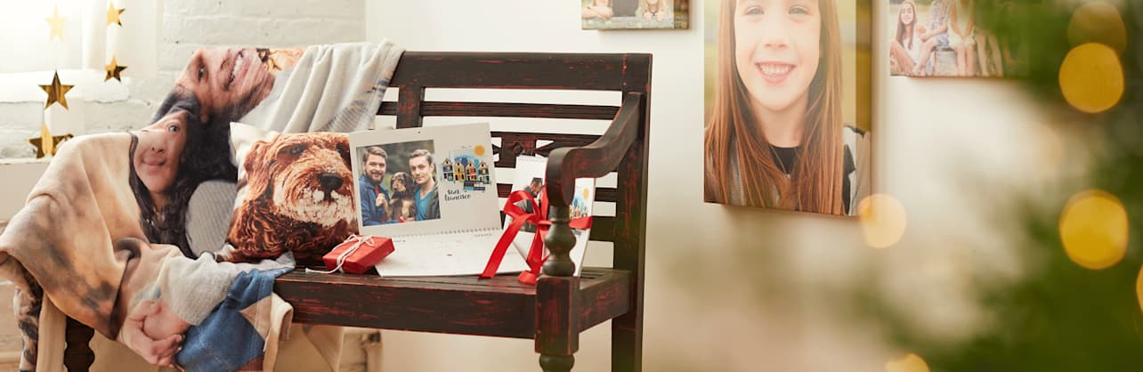 photo gifts from Vistaprint
