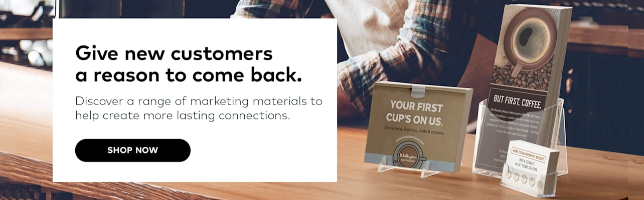 Give new customers a reason to come back.