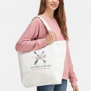 tote bag with custom logo