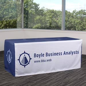 Custom fitted table covers