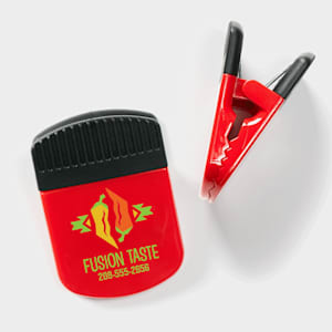 magnetic clip with custom logo