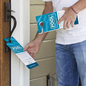 customized door hangers