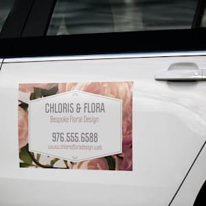 Car Door Decals