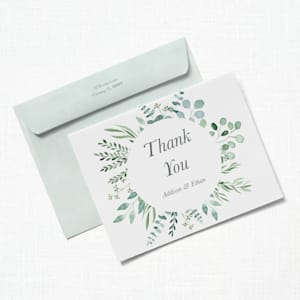 Custom Thank You Cards with Vistaprint