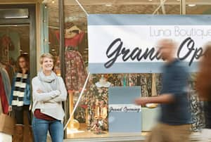 Storefront sign ideas