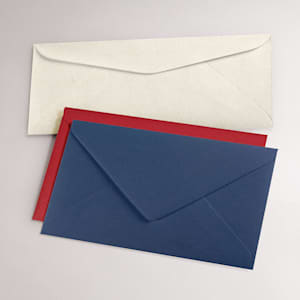Custom colored envelopes