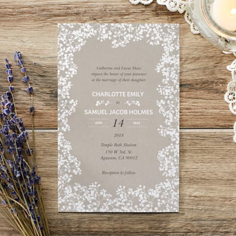 Wedding Invitations Custom Wedding Stationery Vistaprint