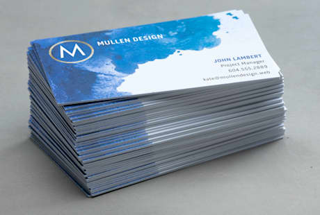 custom ultra thick business card