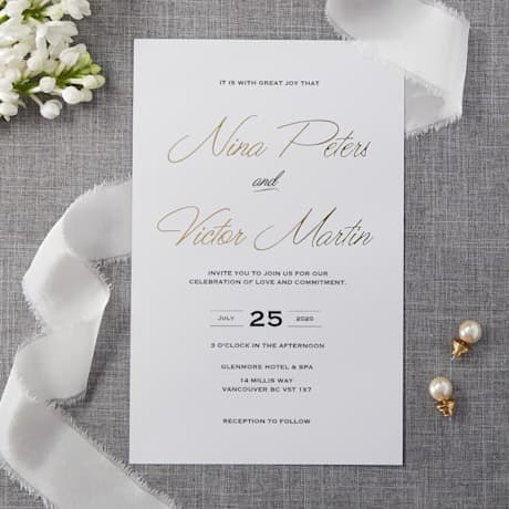 Traditional wedding invitations designs