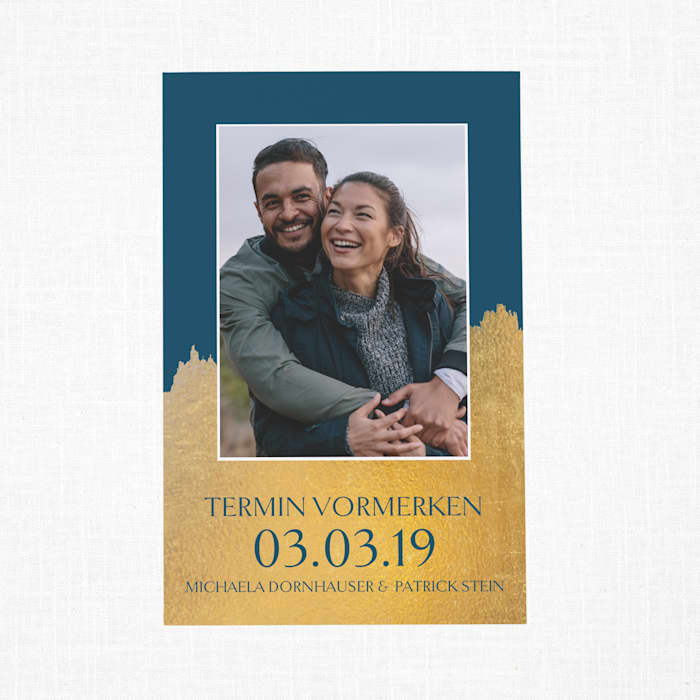 Individuelle Save-the-Date-Karten mit Vistaprint