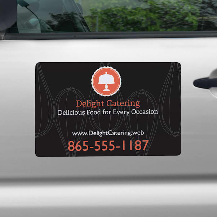 Custom car magnets