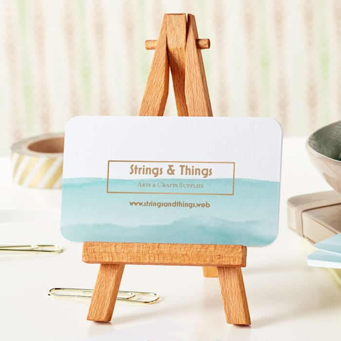rounded corner visiting Card