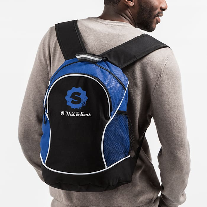 backpack with custom logo