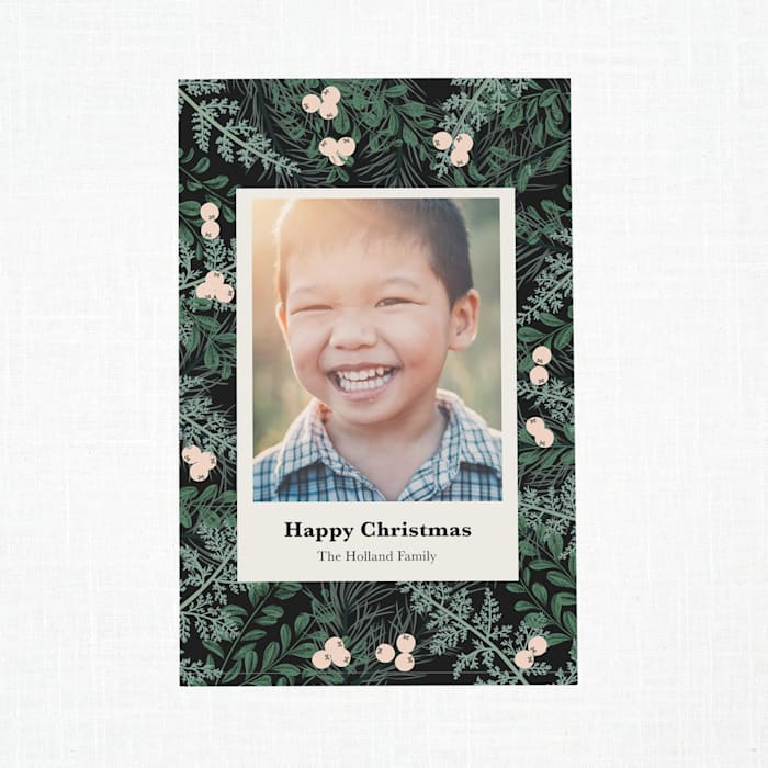 Custom Holiday Cards with Vistaprint