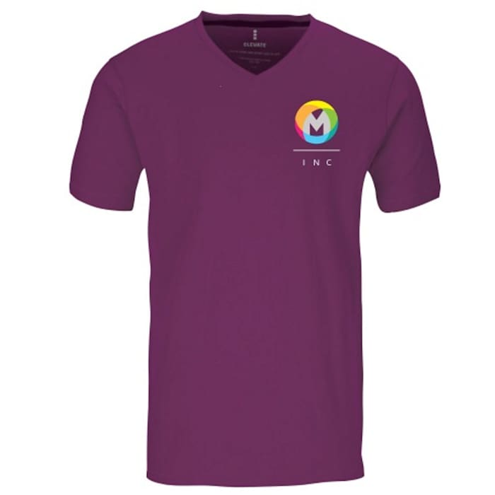 Elevate Kawartha Mens Short Sleeve VNeck TShirt
