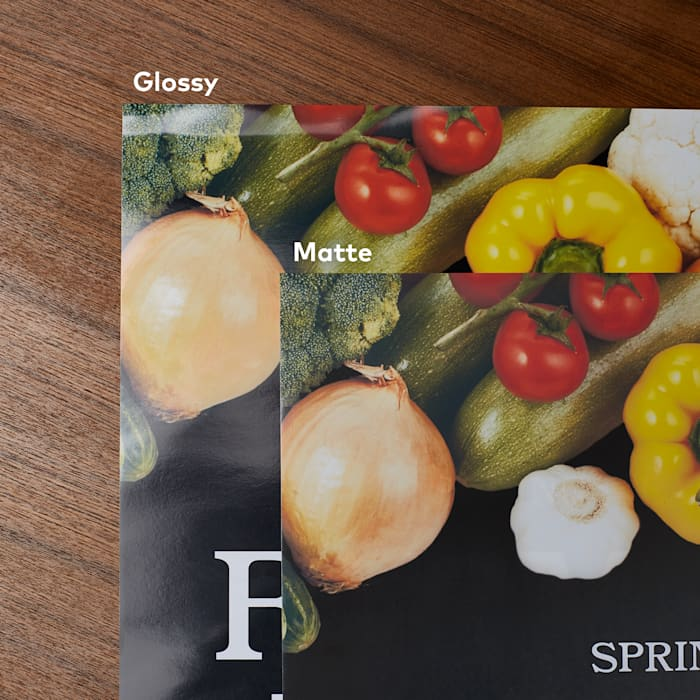 Matte and Glossy Posters