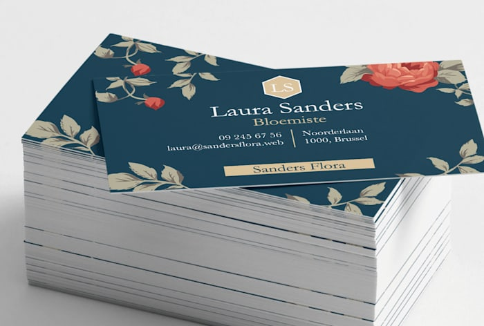 Custom premium business card