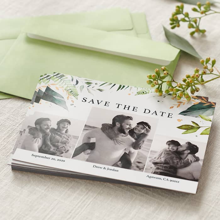 25+ Wedding Save the Date Magnets with Envelopes