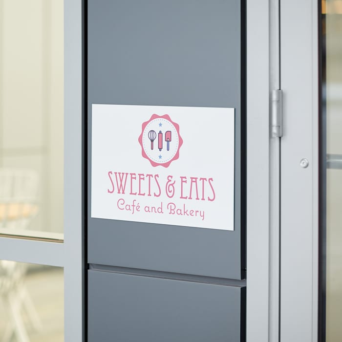 CUSTOM MADE Office Cafe Restaurant Building Metal Signs YOUR DESIGN