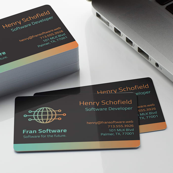 Plastic Business Cards, Plastic Card Printing Vistaprint