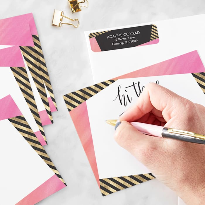 Personalized Note Cards Custom