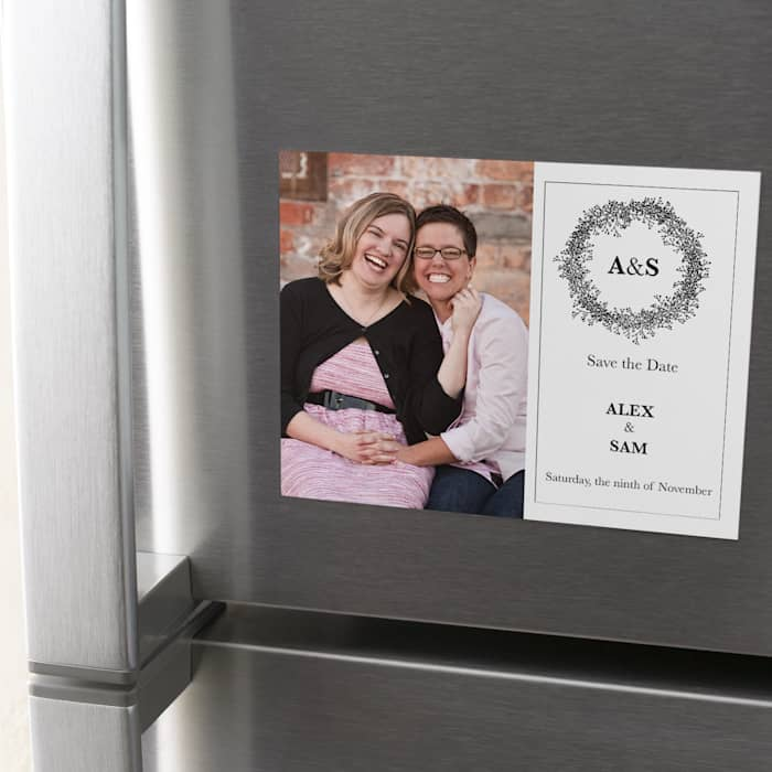 Photo save the Date for Wedding Wedding save date Wedding magnet Custom magnet Wedding announcement Save the dates personalized magnet