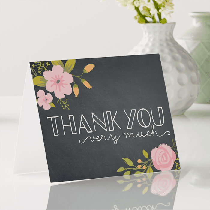 REQUEST ANY COLOR Thank You So Much Note Personalized Note Cards Personalized Stationery Thank You Cards Folded Thank You Notes