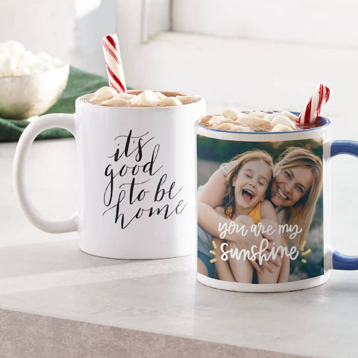 Personalised Mugs Custom Mugs Photo Mugs Vistaprint Uk