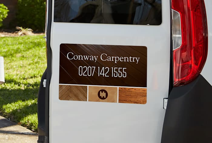 Magnetic Van Signs Custom Car Door