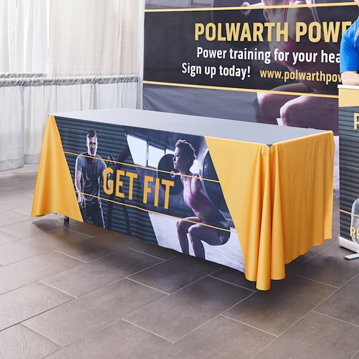 Trade Show Displays Banners Table