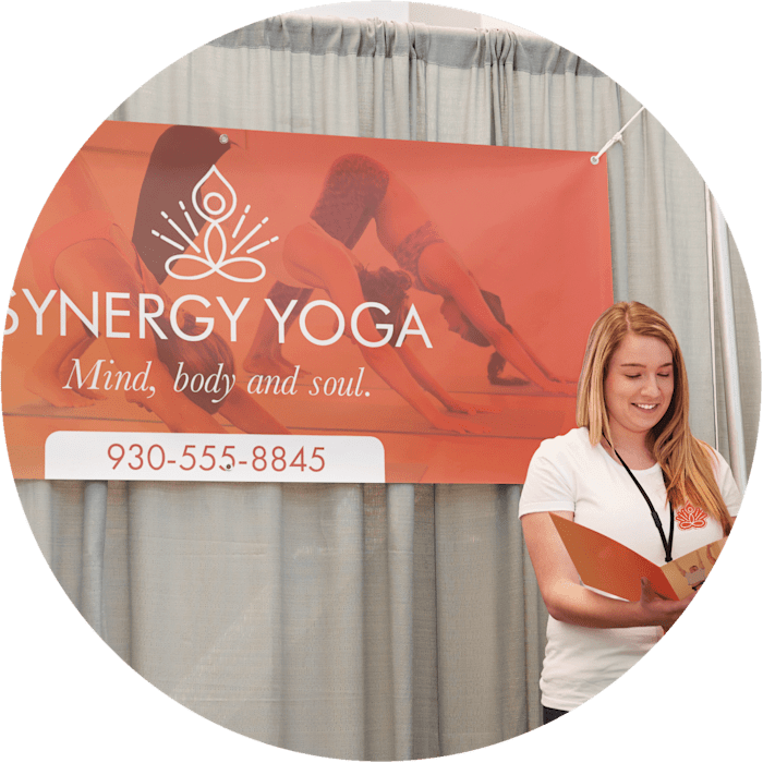 Vinyl banner from Vistaprint