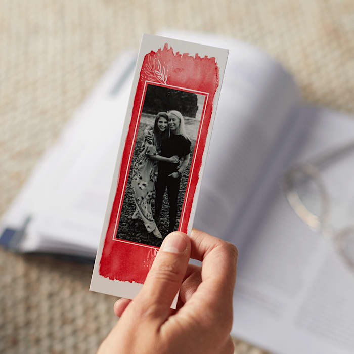 Custom bookmarks with photo