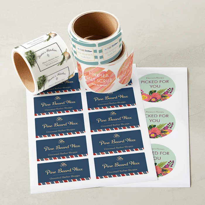 Product label designs