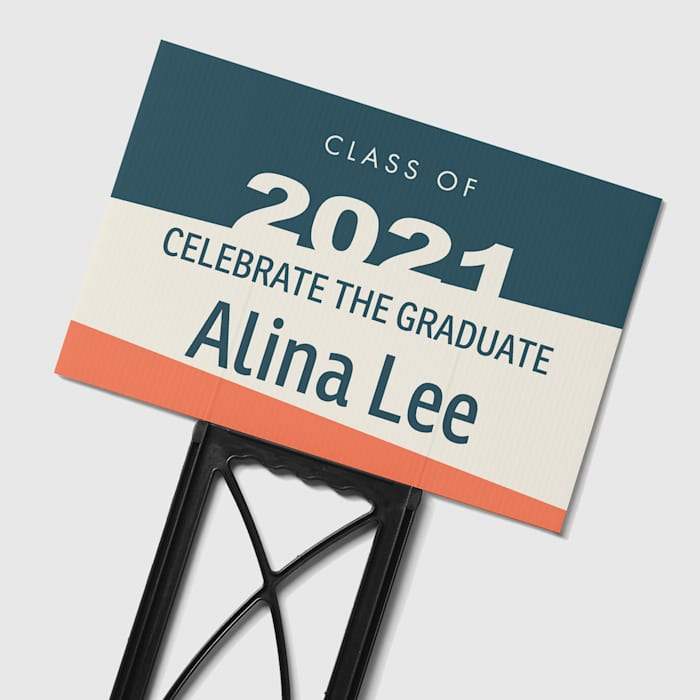 custom yard signs for graduation