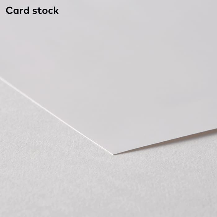 card stock for poster printing