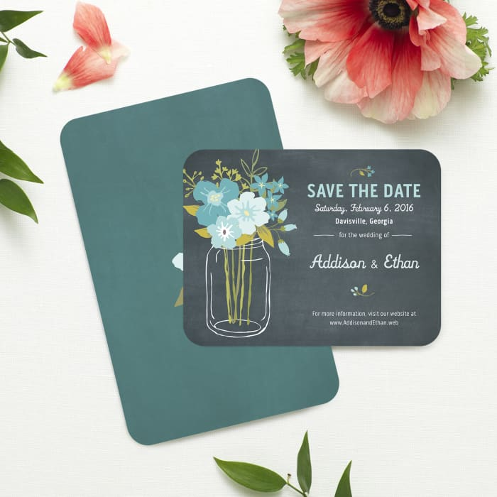 Rounded Corner Invitations