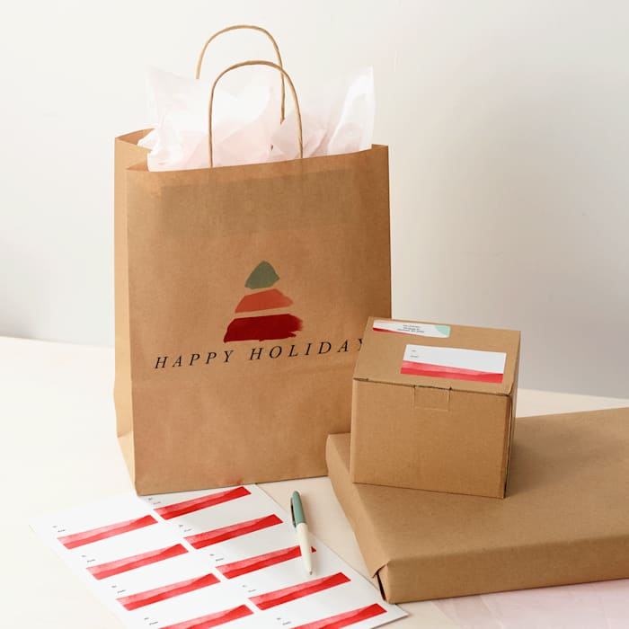 personalized paper bag with logo