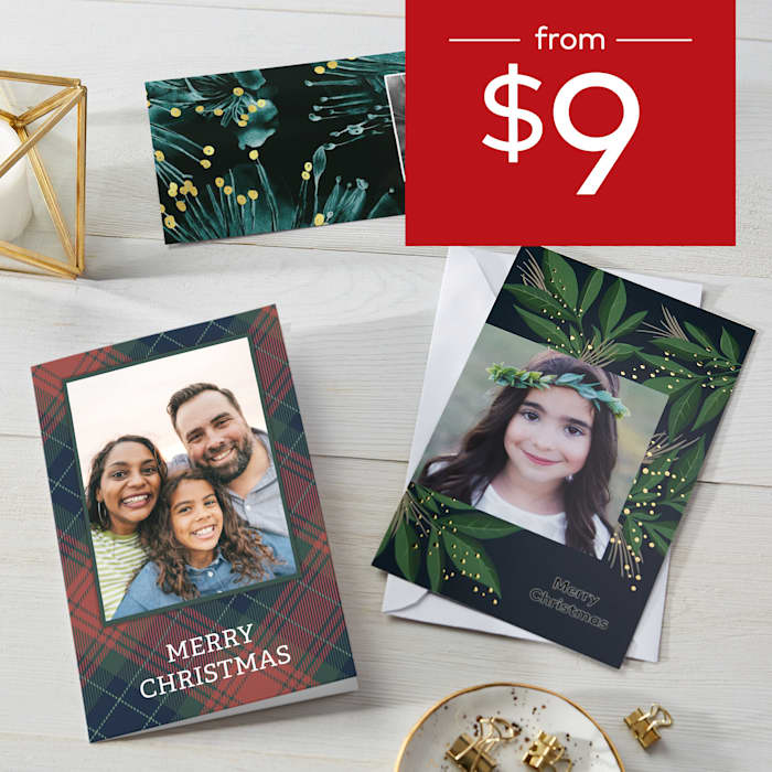 Christmas cards from $9