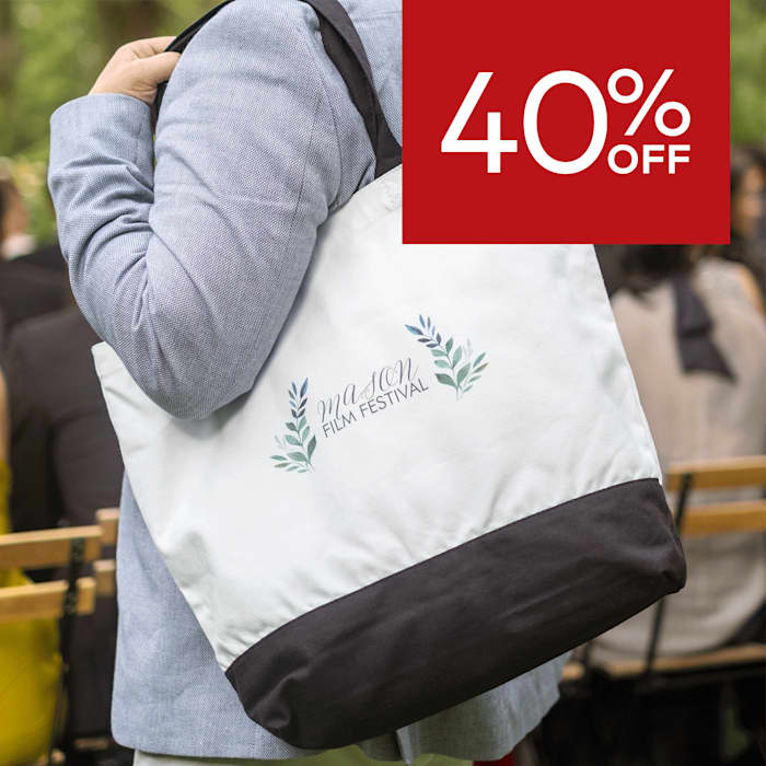 40% off tote bags.