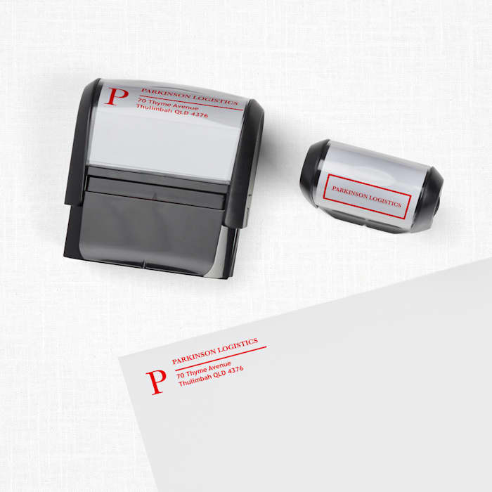 Custom Stamps and Ink with Vistaprint