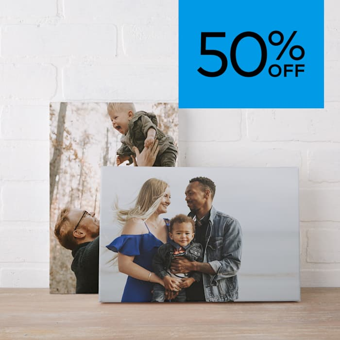 50% off canvas. Promo code WEMEANBIZ