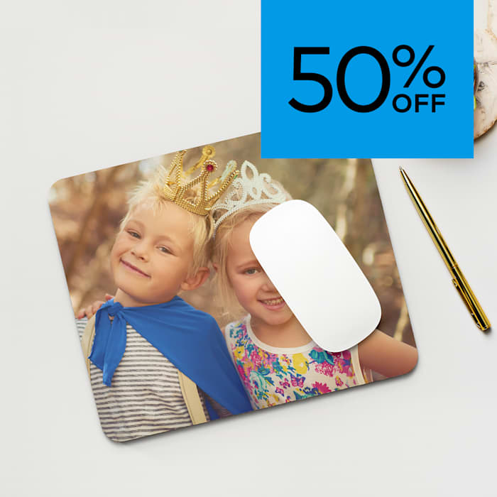 50% off mouse pads. Promo code W3M3ANBIZ