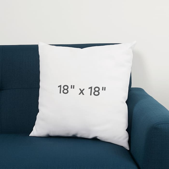Custom pillow size