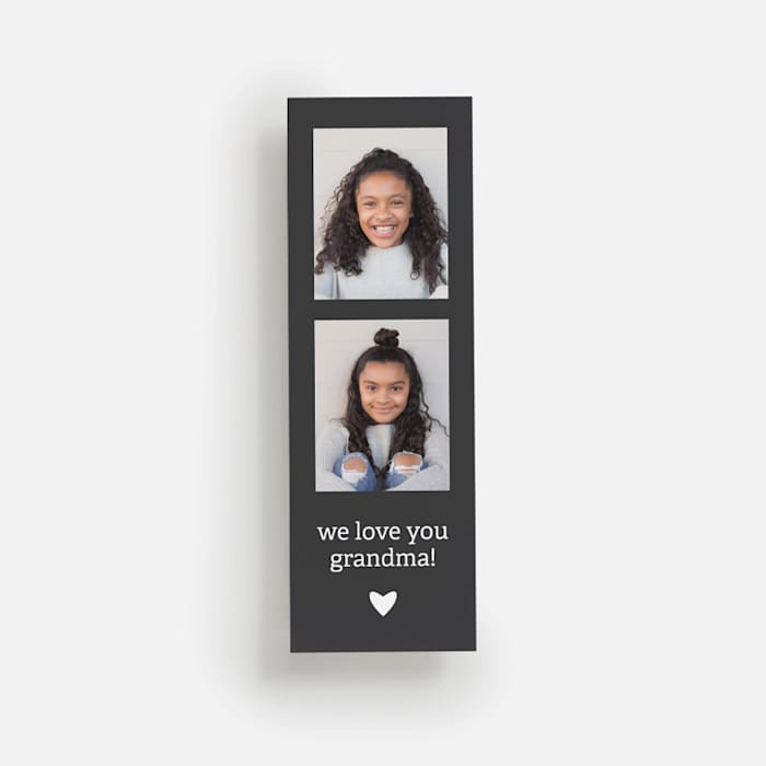 custom bookmark with photo