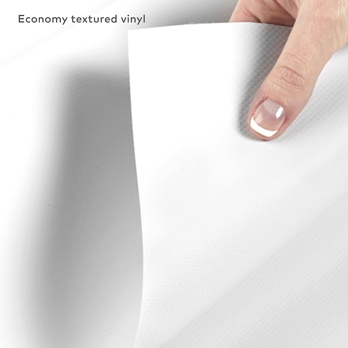 Economy textured vinyl retractable banner