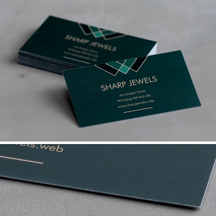 custom premium plus business card